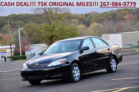 2002 Toyota Camry for sale at T CAR CARE INC in Philadelphia PA