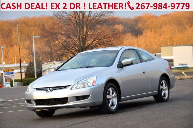 2004 Honda Accord EX 2dr Coupe W/Leather   Philadelphia PA