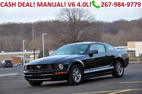 2005 Ford Mustang for sale at T CAR CARE INC in Philadelphia PA