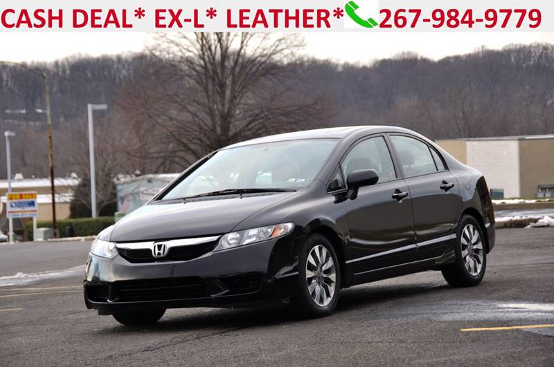 2009 Honda Civic EX L 4dr Sedan 5A   Philadelphia PA