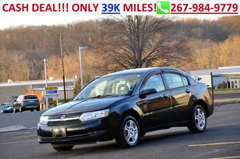 2003 Saturn Ion for sale at T CAR CARE INC in Philadelphia PA