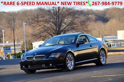 2006 BMW 6 Series for sale at T CAR CARE INC in Philadelphia PA