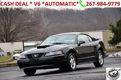 2004 Ford Mustang for sale at T CAR CARE INC in Philadelphia PA
