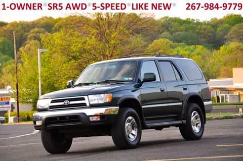 1999 Toyota 4Runner for sale at T CAR CARE INC in Philadelphia PA