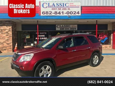 2012 GMC Acadia for sale in Haltom City, TX