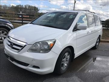 2006 Honda Odyssey for sale at Georgia True Auto Sales in Alpharetta GA