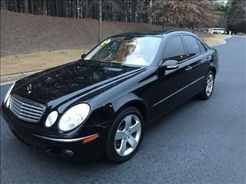 2006 Mercedes-Benz E-Class for sale at Georgia True Auto Sales in Alpharetta GA