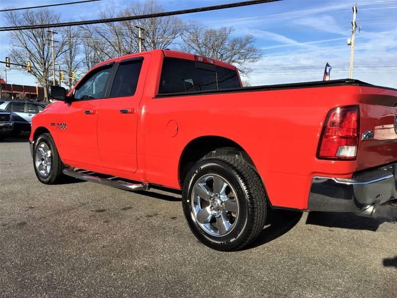 2014 RAM Ram Pickup 1500 4x4 Big Horn 4dr Quad Cab 6.3 ft. SB Pickup - Lynchburg VA