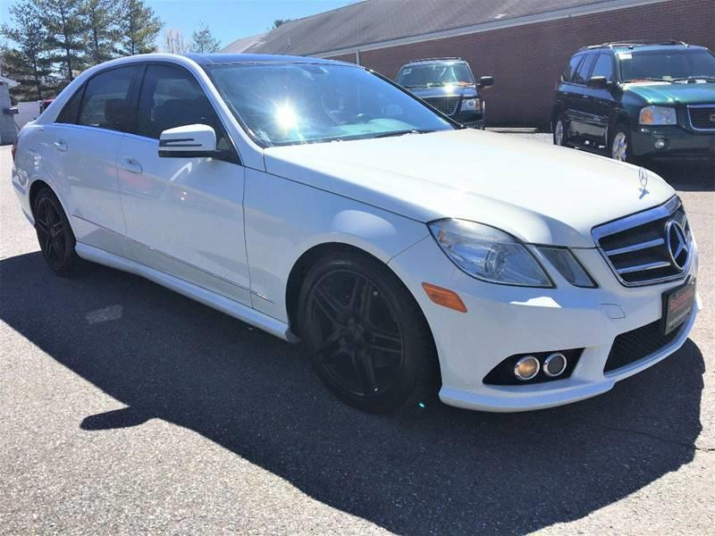 2010 Mercedes-Benz E-Class AWD E 350 Sport 4MATIC 4dr Sedan - Lynchburg VA