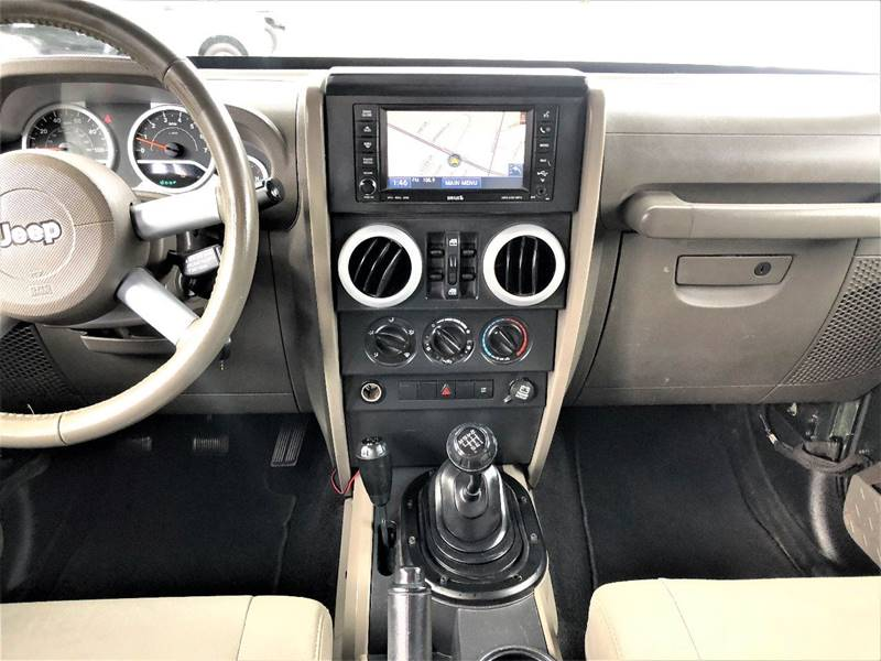 2008 Jeep Wrangler Unlimited 4x4 Sahara 4dr SUV w/Side Airbag Package - Lynchburg VA