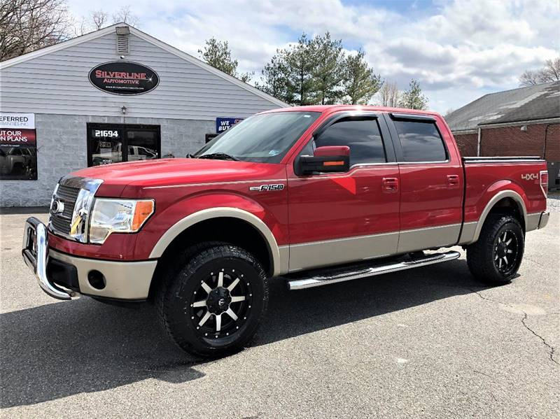 2009 Ford F-150 4x4 Lariat 4dr SuperCrew Styleside 5.5 ft. SB - Lynchburg VA