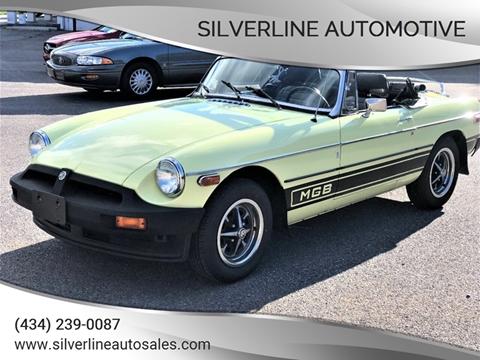 Used Cars Lynchburg Va >> 1977 Mg Mgb For Sale In Lynchburg Va