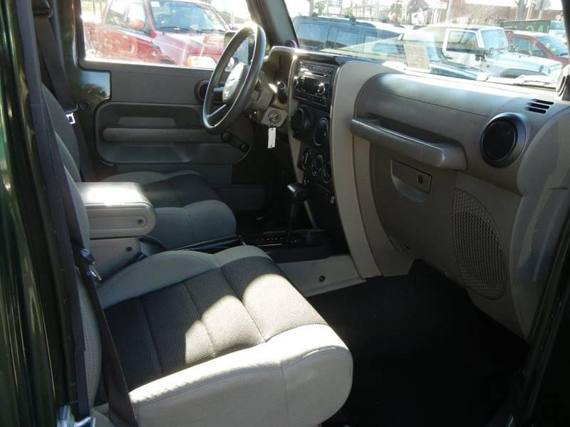 2007 Jeep Wrangler Unlimited 4x4 X 4dr SUV - Lynchburg VA