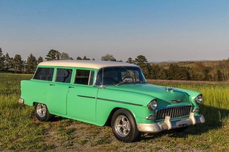 1955 Chevrolet Bel Air 4 Door Station Wagon - Lynchburg VA