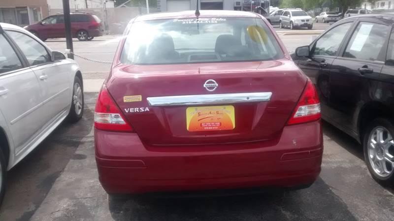 2010 Nissan Versa 1.8 SL 4dr Sedan - Hammond IN