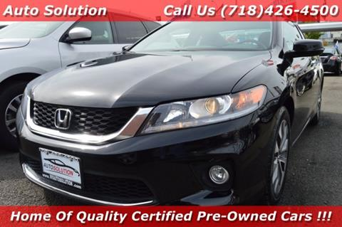 2015 Honda Accord for sale in Woodside, NY