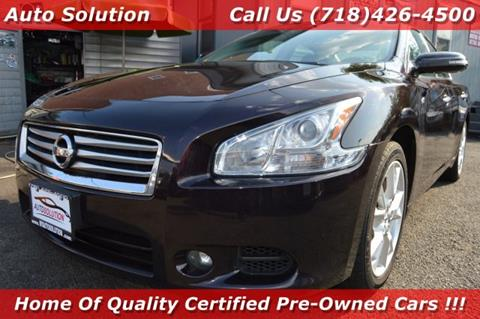 2014 Nissan Maxima for sale in Woodside, NY