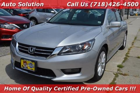 2014 Honda Accord for sale in Woodside, NY