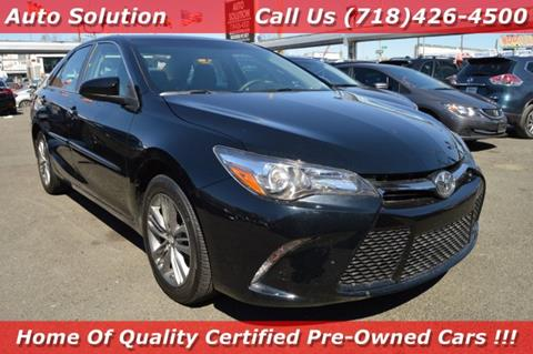 2016 Toyota Camry for sale in Woodside, NY