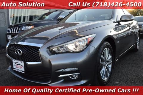 2014 Infiniti Q50 for sale in Woodside, NY