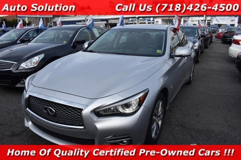2014 infiniti q50 in woodside, ny - auto solution