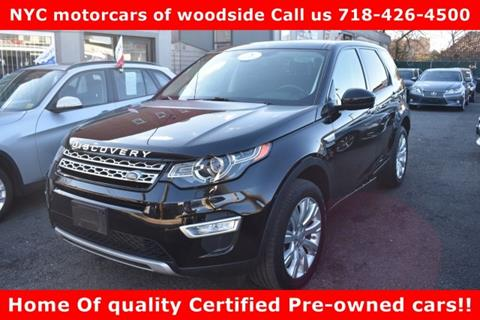 2015 Land Rover Discovery Sport for sale in Woodside, NY
