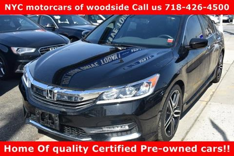 2016 Honda Accord for sale in Woodside, NY