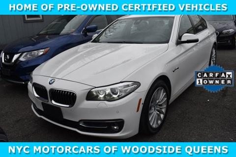 2016 BMW 5 Series for sale in Woodside, NY