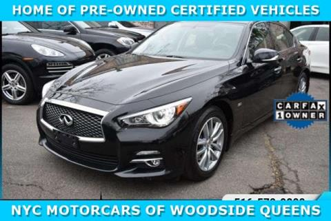 2015 Infiniti Q50 for sale in Woodside, NY