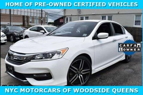 2017 Honda Accord for sale in Woodside, NY