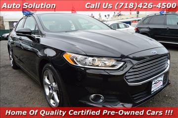 2014 Ford Fusion for sale in Woodside, NY