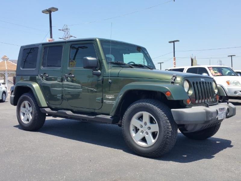 2007 Jeep Wrangler Unlimited Sahara 4x4