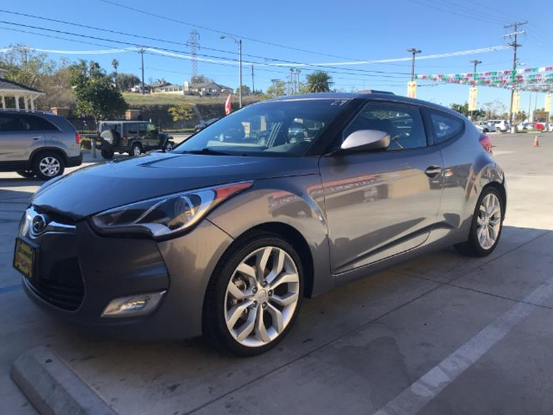 2013 Hyundai Veloster Base 3dr Coupe 6M
