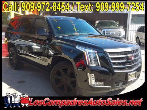 2016 Cadillac Escalade for sale at Los Compadres Auto Sales in Riverside CA