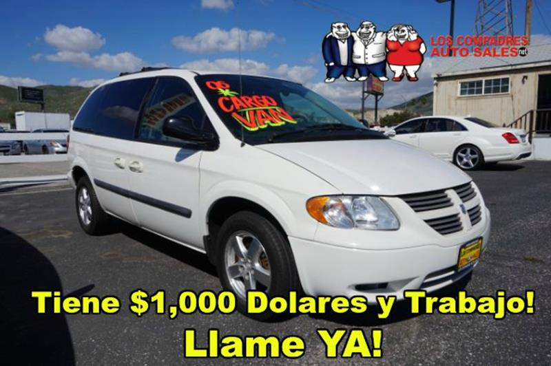 2006 Dodge Caravan SE  Front, Rear and Third Row Head Airbags
