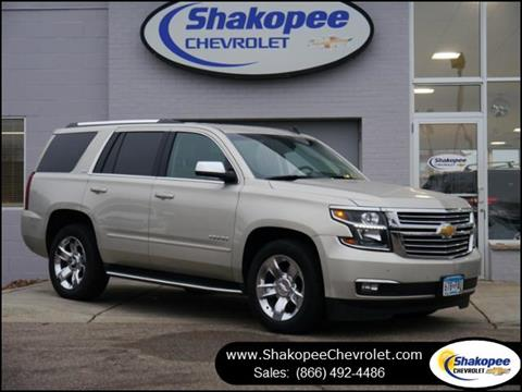 used 2015 chevrolet tahoe for sale in minnesota. Black Bedroom Furniture Sets. Home Design Ideas