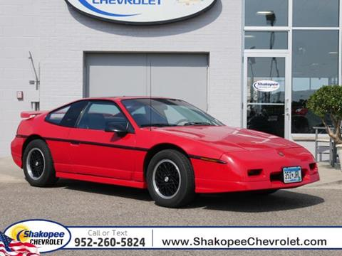 1988 Pontiac Fiero for sale in Shakopee, MN