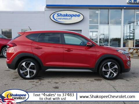 2017 Hyundai Tucson for sale at SHAKOPEE CHEVROLET in Shakopee MN