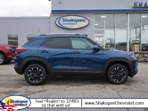 2021 Chevrolet TrailBlazer for sale at SHAKOPEE CHEVROLET in Shakopee MN