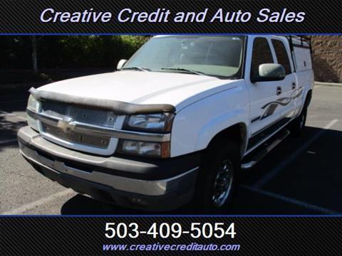 2005 Chevrolet Silverado 1500HD for sale in Salem, OR