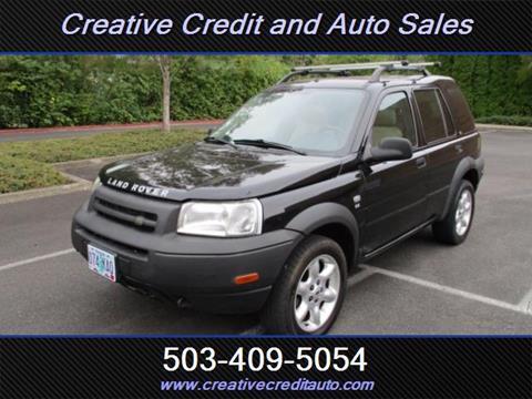 2002 Land Rover Freelander for sale in Salem, OR