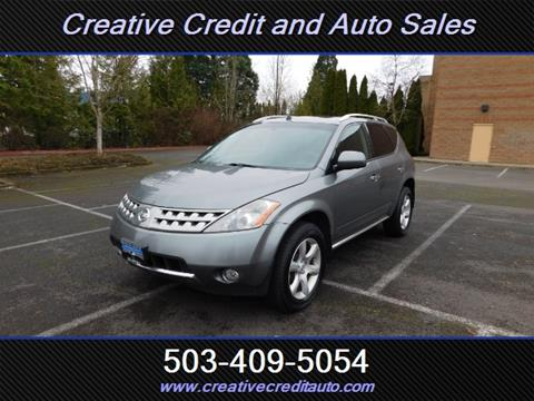 2007 Nissan Murano For Sale In Salem OR