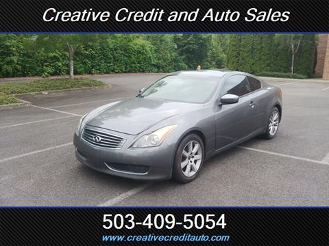 Used Infiniti G37 >> Used Infiniti G37 Coupe For Sale Carsforsale Com