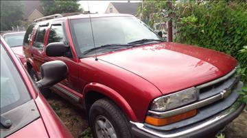 2000 Chevrolet Blazer for sale at Creative Credit & Auto Sales in Salem OR