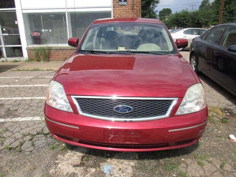 2005 Ford Five Hundred SEL 4dr Sedan - Richmond VA