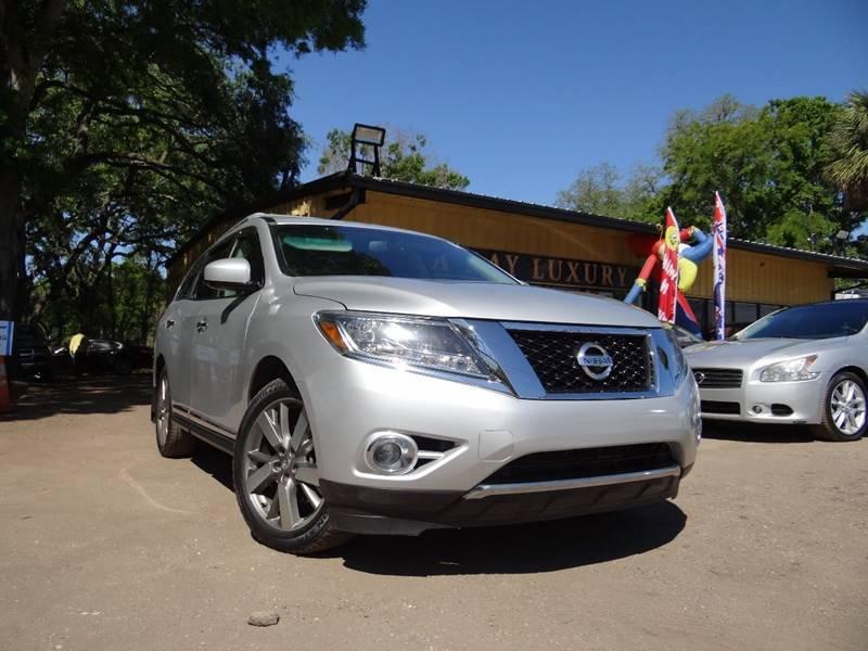 2013 Nissan Pathfinder Platinum In Tampa FL - Tampa Bay Luxury LLC