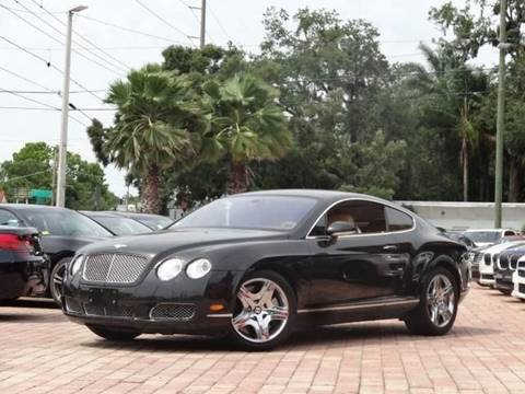2005 Bentley Continental GT for sale in Tampa, FL