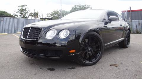 2007 Bentley Continental for sale in Tampa, FL