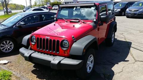 2007 Jeep Wrangler X for sale at Action Automotive Inc in Berlin CT