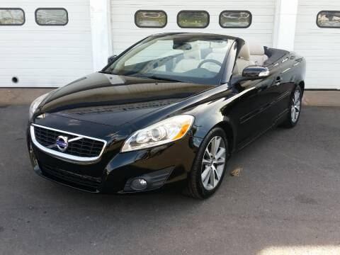 2011 Volvo C70 T5 for sale at Action Automotive Inc in Berlin CT